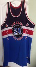 VINTAGE! Philadelphia Official Street Ball Basketball Jersey #24 Men's Sz. 56