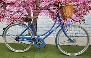 Pashley Poppy Vintage Style Bike With Basket + Bag