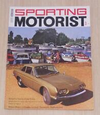 SPORTING MOTORIST Magazine Nov 1966 - Ford Zodiac, Mercedes-Benz 230, Triumph ++