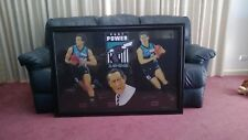 PORT POWER 1OF1 ONLY,ORIGINAL PENCIL DRAWING,PLAYER,COACH,BEST AND FAIREST,1998