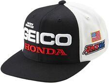100% Geico Honda Podium Snapback Hat  Mens