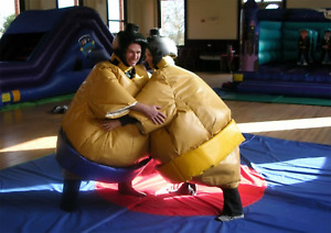 Pairs of Sumo Wrestling Suits by Supersumo Ltd