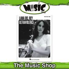 New Lana Del Ray 'Ultraviolence' PVG Music Book - Piano Vocal Guitar