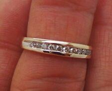 .20 tcw Sz 5.75 G111154-3 2.26 grams Stunning 10K Yg Ladies Diamond Band Ring