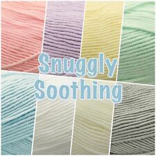 Sirdar Snuggly SOOTHING Soft Baby Double Knit Knitting Wool Yarn 100g Ball