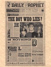 Harry Potter The Daily Prophet Boy Who Lies Flyer/Poster Prop/Replica