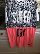 Superdry T-shirt Dress Limited Edition Size S