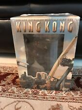 KING KONG deluxe 3 DVD GIFT SET w/ LIMITED ED STATUE Peter Jackson MINT IN BOX