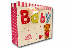 Geschenktüte für Baby Willkommensgeschenk in rosa