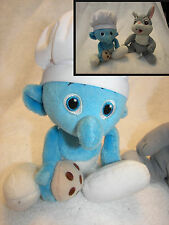 Smurfs  Chef Jakks Pacific Com.  / Thumper from bambi beanie set of 2