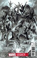 MARVEL LEGACY #1 ALEX ROSS B&W 1:100 INCENTIVE VARIANT COVER