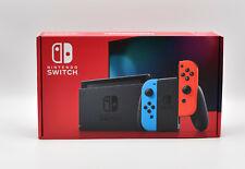 NINTENDO Switch neue Edition Spielekonsole Neonrot/Neonblau 32GB NEU OVP