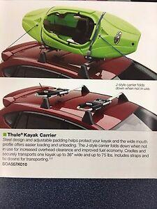 2006-2020 Subaru Outback WRX Impreza Forester OEM Kayak Carrier SOA567K010 Thule