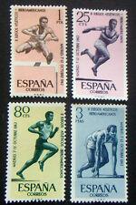 Sellos en español - 1962 Juegos 2nd español-American Athletic Madrid todos los estampillada sin montar o nunca montada