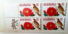 U.S. Stamp Mr Zip Block 1969 6c Alabama Statehood 150 year Anniversary  NH VF