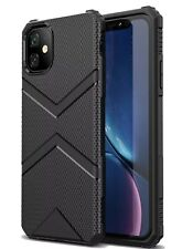For iPhone 11 Pro Max Case Cover Heavy Duty Shockproof Slim TPU Case Black