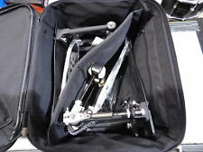 PEARL P-2002C PowerShifter Eliminator Double Kick Drum Pedal with Case!