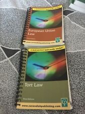 Two Cavendish Lawcard Series Law Books