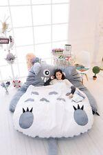 Double Cartoon Bed Mattress Big Bean Bag Lounge Pillow Sleepping Kid Gift