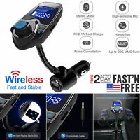 Wireless Car Kit MP3 Player FM Transmitter Audio Adapter USB Charger Handsfree