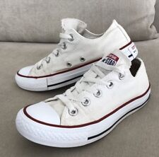 Converse All Star White Mens US 3 Womens 5 Authentic Chuck Taylor Shoe Sneaker