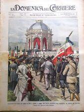 La Domenica del Corriere 25 Maggio 1902 Eruzione Piccole Antille Dirigibile Pax
