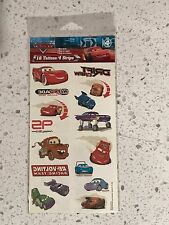 Disney Pixar Cars 16 Tattoos / 4 Strips