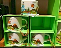 2oz Starbucks RUSSIA You Are Here YAH Series MINI Ornament Mug With Box NEW 2019