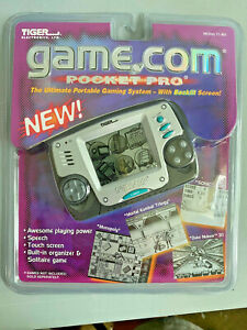 Brand New Factory Sealed Tiger Game.com Pocket Pro Handheld Gaming System Rare