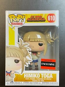 FUNKO POP MY HERO ACADEMIA HIMIKO TOGA #610 AAA ANIME EXCLUSIVE