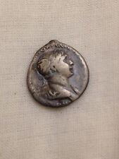 Roman silver denarius coin metal detecting find