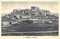 BR45332 Athenes l acropole greece athens