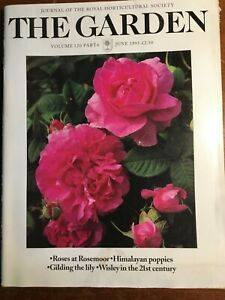 THE ROYAL HORTICULTURAL SOCIETY THE GARDEN JOURNAL JUNE 1995 VOL 120 PART 6