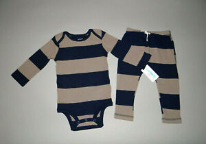 NWT, Baby boy clothes, 12 months, Carter's Thermal Pant Set/~SEE DETAILS ON SIZE