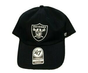 NWT New Las Vegas Raiders '47 Brand Franchise On Field Logo Size XL Fitted Hat