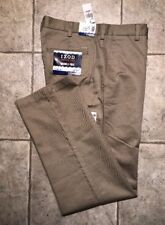 IZOD * Mens Khaki Casual Pants * Size 32 x 32 * NEW WITH TAGS