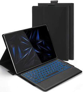 Bluetooth Backlit Keyboard UK Layout Case for Microsoft Surface Pro 4/5/6/7