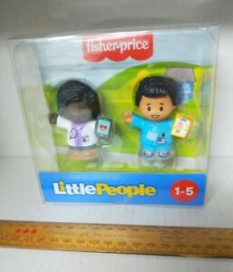 Fisher-Price 2-piece pack Little People doctor & nurse as new in box