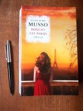 Guillaume MUSSO : Bericht uit Parijs, thriller, in PERFECTE staat