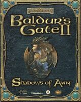 Baldur's Gate II 2 Shadows Of Amn + Throne of Bhaal PC Windows - DISCS ONLY