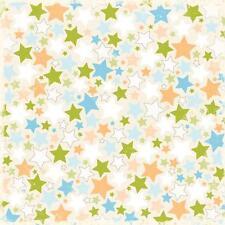 Making Memories Scrapbook Paper Animal Crackers Jack Die Cut Stars