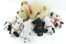 Lot of 7 Pound Puppies 1997 Large Mom Dog + 6 Mini 1986 Puppies Plush