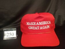 The Genuine Original Official MAGA Hat by Cali-Fame. Deep red variation. #250