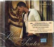 CD -  Romeo Santos  NEW Formula Vol 2 ALBUM - FAST SHIPPING !