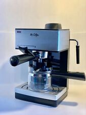 Mr. Coffee Steam Espresso and Cappuccino Maker  With Milk Frothing Tip ECM160