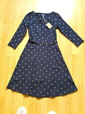 BNWT Joules Dress. Joules Spotty Jersey Dress. Shayprint. RRP £65. Xmas gift