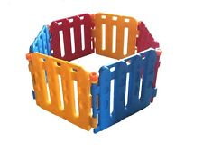 New 6pc Baby Colorful Playpen