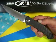 ZERO TOLERANCE usa 0452CF Large Sinkevich CARBON FIBER KVT S35VN lg kai ZT knife