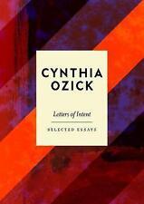 LETTERE di intenti: SAGGI SCELTI by Cynthia Ozick (Rilegato, 2017)
