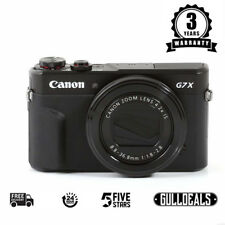 BRAND NEW Canon PowerShot G7X Mark II Digital Camera Black UK DISPATCH